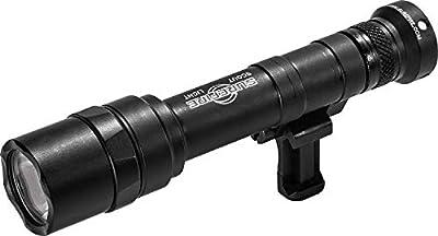 SureFire Scout Light Pro Ultra-High-Output LED WeaponLight, Black (M640U-BK-PRO)