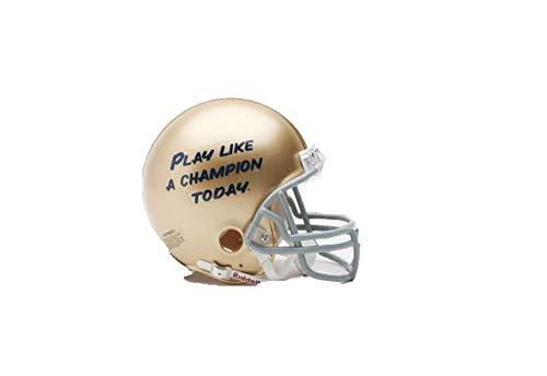 Riddell NCAA Notre Dame Fighting Irish Helmet Mini VSR4, One Size, Team Color