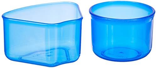 Amazon Brand - Solimo Plastic Masala Box, 2 litres, Blue