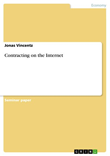 Contracting on the Internet (English Edition)