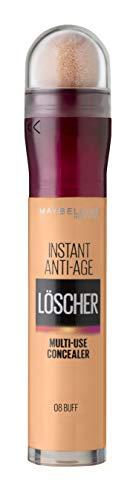 Maybelline New York Abdeckstift, Instant Anti-Age Effekt Concealer, Löscher mit Mikro-Lösch-Applikator, Nr. 08 Buff, 6,8 ml