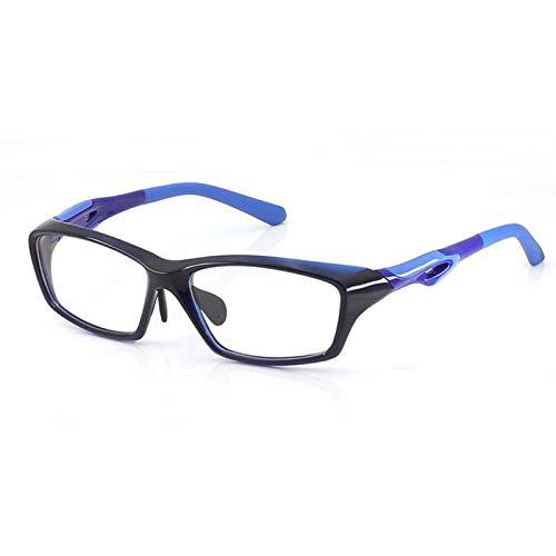 Xin Hai Yuan Montura De Gafas TR90 para Hombre, Montura Completa, Gafas De Moda para Deportes, Anteojos De Miopía, Diseño Antideslizante Ultraligero,C3