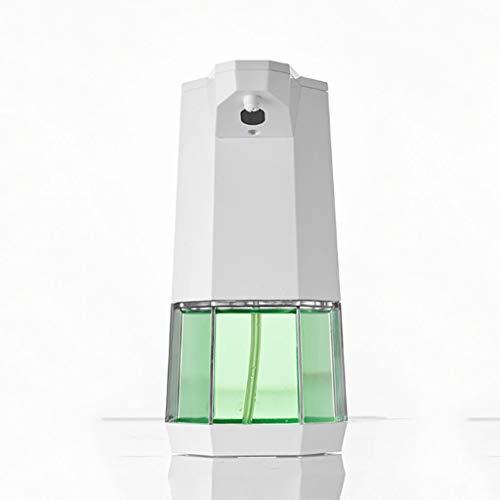 LDDLDG Dispensador de Jabón Bomba dispensadora de jabón de Espuma automática con Sensor de Infrarrojos, Botella de jabón líquido Blanco de plástico sin Contacto en la encimera, 360 ml