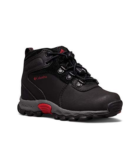 Columbia Youth Newton Ridge, Chaussures de Randonnée Hautes Homme, Noir (Black, Mountain 010), 36 EU