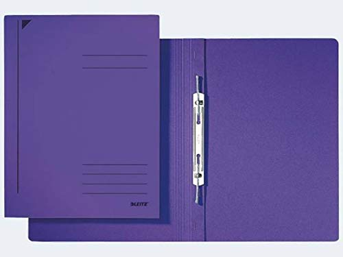Esselte Leitz Spiralhefter, A4, kfm. Heftung, Pendarec-Karton, violett