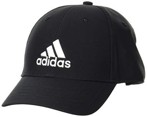 adidas GM4509 BBALLCAP LT EMB Hats unisex-adult black/black/white OSFM
