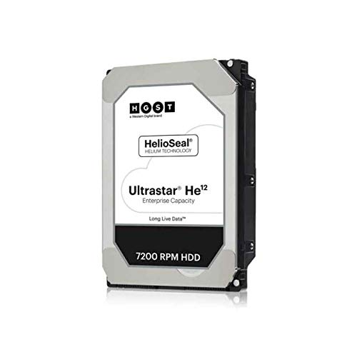 HGST Ultrastar HE12 12TB HDD SATA 6GB/S 4KN Ise 7200RPM HUH721212ALN600 24x7 8, 9cm 3, 5Zoll Bulk