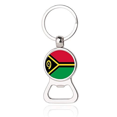 Vanuatu Flagge Bier Flaschenöffner Metall Glas Kristall Schlüsselb& Reise Souvenir Geschenk Schlüsselanhänger Zubehör