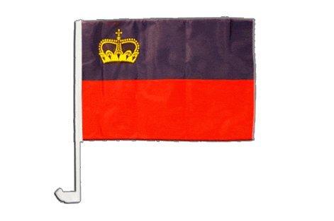 Drapeau de voiture Liechtenstein - 30 x 40 cm