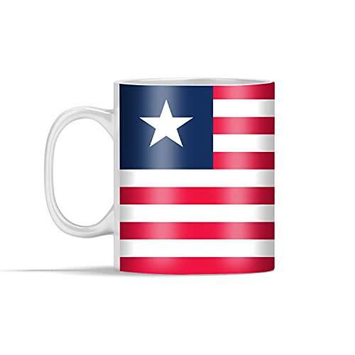 Tasse - Flagge von Liberia - 350 ml