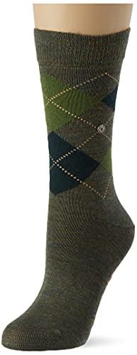 Burlington Damen Melange Marylebone W SO Socken, Grün (Opal 7930), 36-41 (UK 3.5-7 Ι US 6-9.5)