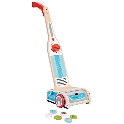Fat Brain Toys Vacuum Cleaner - Watch Me Clean! Magical Vacuum Imaginative Play for Babies