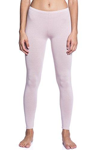 Abbino Dominic Basic Legging Damen - Made in Italy - 12 Farben - Übergang Frühling Sommer Herbst Leggin Damenleggin Stretch Viskose...