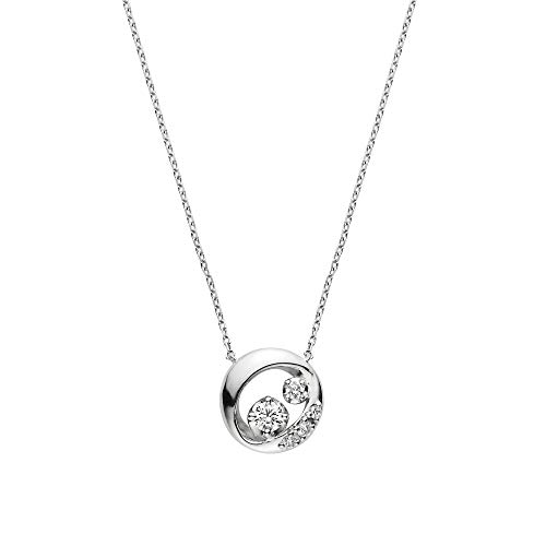 [ヴァンドーム青山] ダイヤモンド 0.08 ct プラチナ ロンデール ネックレス APVN200443DI