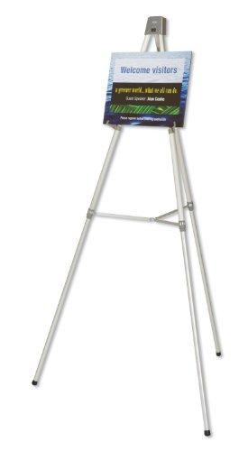 "Quartet Heavy Duty Flipchart or Display Easel, 66"" Max. Height, 35 Lbs. Max. Weight, Silver Aluminum (54ETL) Photo #2"