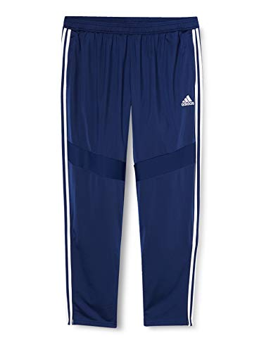 Adidas Tiro 19 Polyestere Hose Pantalones Deportivos, Hombre, Azul (Dark Blue/White), M