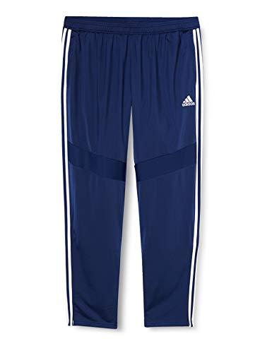 Adidas Tiro 19 Polyestere Hose Pantalones Deportivos, Hombre, Azul (Dark Blue/White), XL