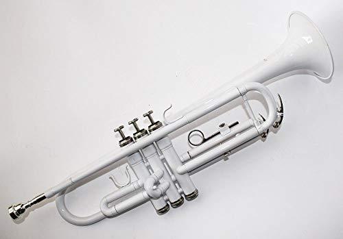 Cherrystone Bb Trompete mit Koffer und Zubehör in weiß