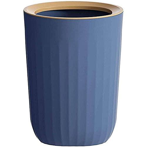 YuKeShop 11.3L Prullenbak Keuken Slaapkamer Badkamer Prullenbak Opslag Bins Kantoor Bureau Prullenbakken Bin Plastic Duurzaam en Anti-Fall