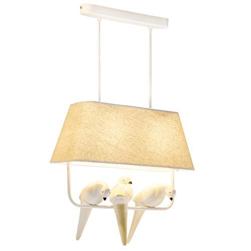 YI0877CHANG Iluminación Colgante Idílico Bird lámpara de la Sala de Estar Dormitorio Creativo lámpara de cabecera de la lámpara Individual lámpara de suspensión