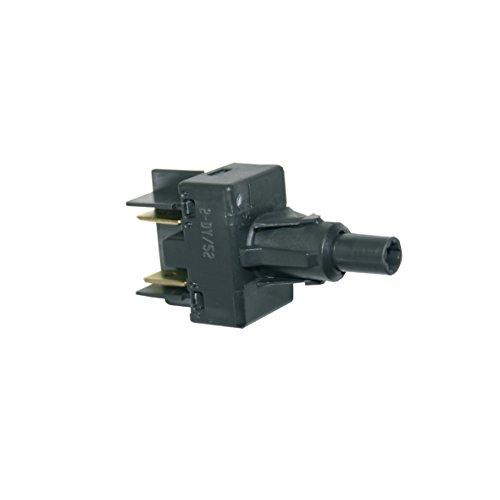 Tastenschalter EinAus Schalter und weitere Funktionen 1fach Spülmaschine Geschirrspüler Ausführung wie Whirlpool Bauknecht 481227628372 auch Functionica Funktionika Ikea Ignis für adp fun adl dwh