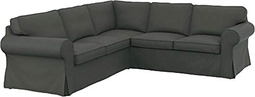The Thick Cotton Ektorp 2 2 Sofa Cover Replacement is Custom Made for IKEA Ektorp Corner Or Sectional Sofa Slipcover