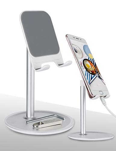 Handy Halterung, Handy Ständer, Tisch Verstellbarer für iPhone,ipad, Tablet Andere Smartphones