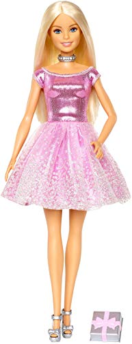 Mattel Barbie Happy Birthday Doll And Accessory (GDJ36)