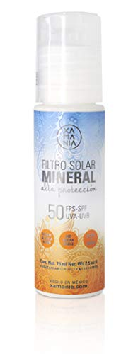 Xamania - Filtro Solar Mineral - 50 Fps - 75 mililitros