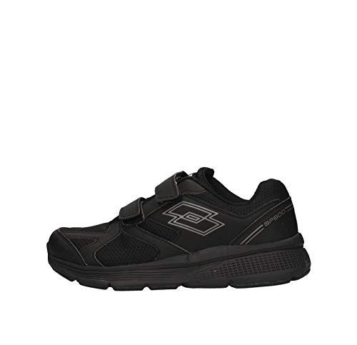 Lotto Speedride 601 - Zapatillas deportivas para hombre, color negro, 213601-1CL Negro  45