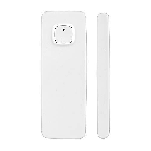 OWSOO Sensor de Puerta WiFi Inalámbrico, Soporte Control de Tuya/Smart Life App, Compatible con Alexa Google Home IFTTT, Incorporada Batería Recargable