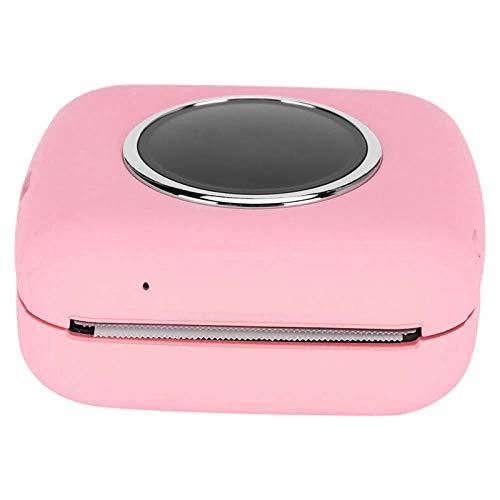 Imprimante Photo Portable Imprimante de reçus Portable Multifonction Lightweight, pour l'impression en réseau(Pink)