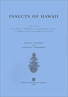 Insects of Hawaii, Volume 16: Coleoptera: Coleoptera: Carabidae: Part 1: Introduction and Tribe Platynini