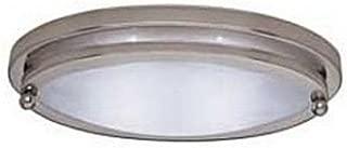 Gustafson 55AM-558XYZ1 10 Low Profile Oval Light, Satin Nickel