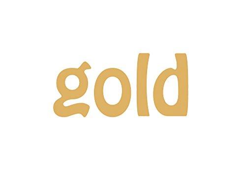 Miniblings 10x Transfert Tissu 24mm Lisse Patch Pieds de bébé Pieds Pieds Je Patches à Repasser Repassage, Color:Gold