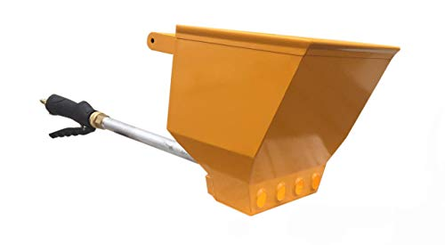 Stucco Sprayer, Scoop N Shoot, All Made in The USA, Includes 2 Plugs to use with 2,3 or 4 Holes and Nozzle with 2 Years Warranty