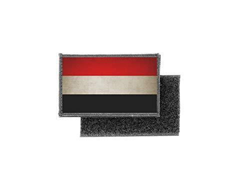 Aufnäher patch aufbügler vintage gedruckt flagge fahne jemen