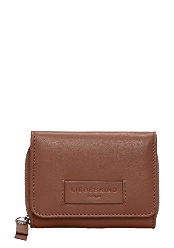 Liebeskind Berlin Damen Essential Pablita Wallet Medium Geldbörse, Braun (Bourbon) 2x9x11 cm