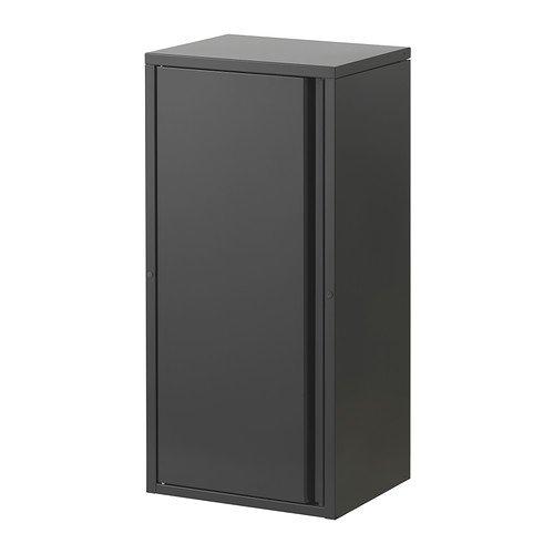 IKEA JOSEF–Schrank, grau–40x 35x 86cm