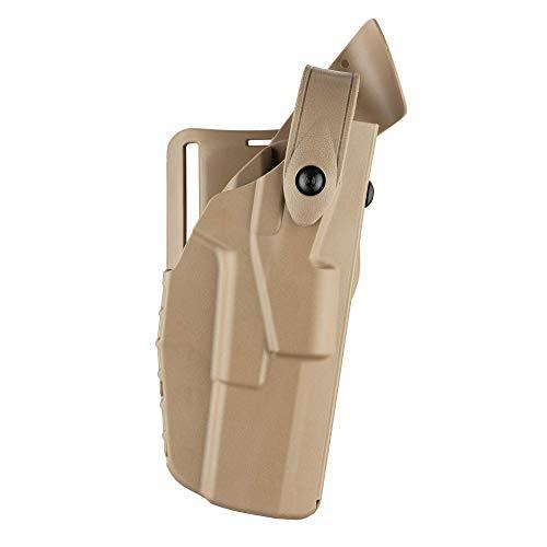 Safariland 7360 ALS/SLS, Level 3 Retention Duty Holster, Mid Ride, Fits: Beretta 92 - Flat Dark Earth, Right Hand