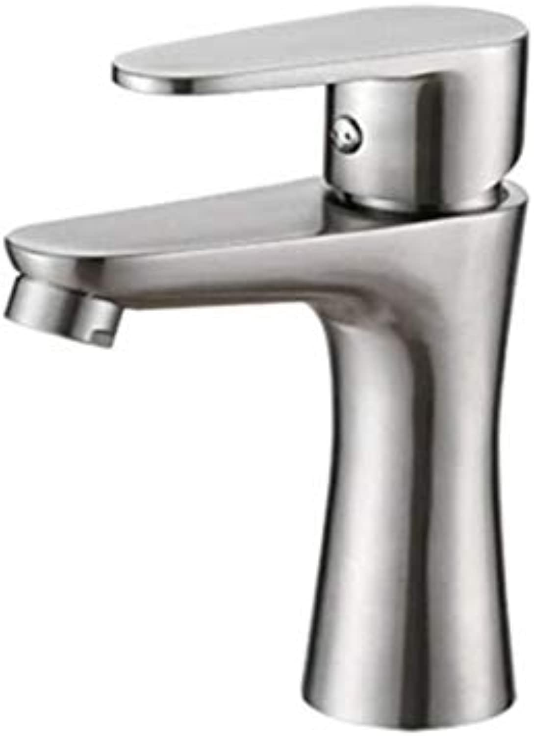 Taps Kitchen Sinkwaste Mono Spout Basinstainless Steel Basin Faucet Hot and Cold Bathroom Faucet