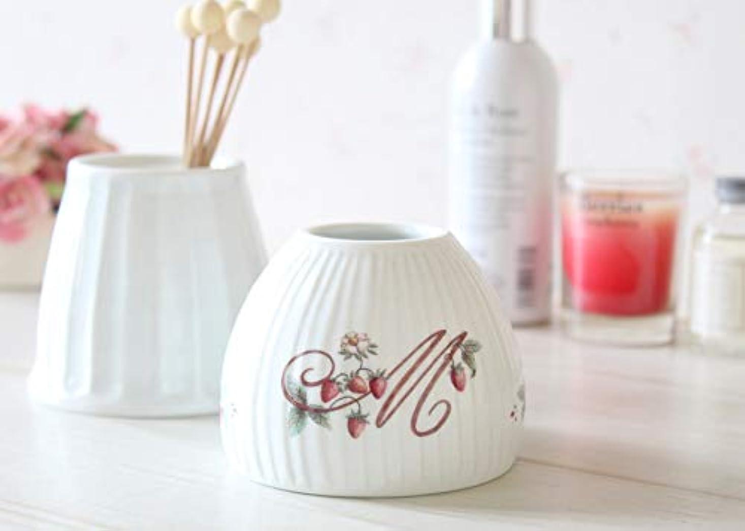 主怒るレンチマニーロココ 陶器 ジュポン型アロマカバー