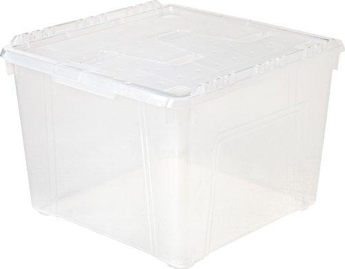IRIS 60 Quart Wing Lid Storage Box, 6 Pack