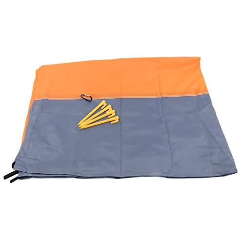 HBWHY Manta de playa grande con bolsa portátil de picnic impermeable estera de playa a prueba de arena para viajes al aire libre, camping, senderismo, accesorios de viaje, 200 x 140 cm