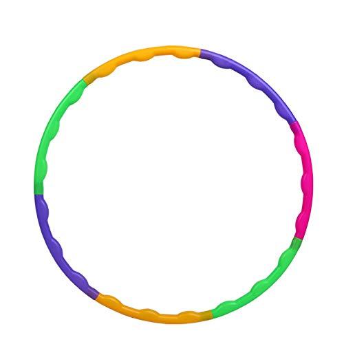 ADAGG Fhogan - Anillo de ejercicio para yoga, círculo de fitness, círculo de fitness desmontable, anillo de espuma extraíble, anillo de ejercicio para adelgazar con cintura fina