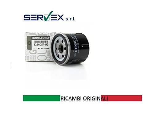 REN   Filtro Olio Motori 1.2   Modelli Clio / Kangoo   Ricambio Originale 8200257642