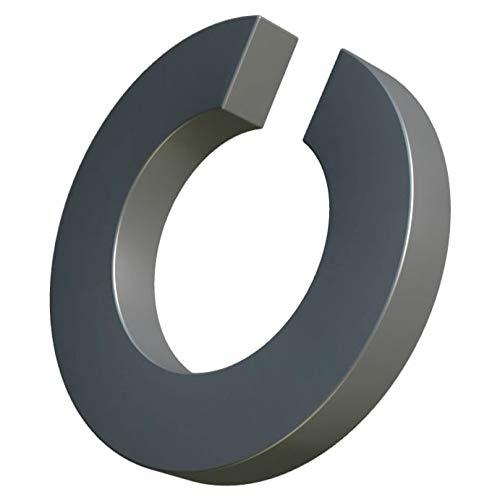 M14 Rondelle elastiche acciaio inossidabile, anello diviso, con blocco elicoidale, rondella piana a sezione quadra a spirale singola, rondell per bullone/vite da 14 mm DIN 127 A2 (confezione da 10)