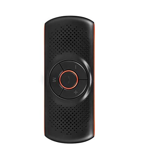 Guangcailun Visera Solar Manos Libres Bluetooth 4.2 Altavoz del Coche 2 teléfonos...