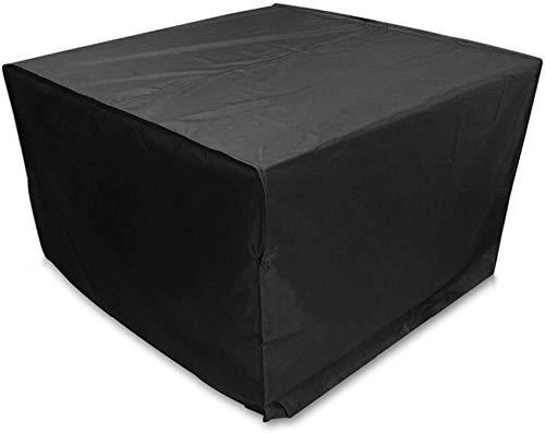 dfff Fundas para Muebles de jardín Impermeable, Cubierta Rectangular para Mesa de Patio, Cubierta de Patio para Muebles Impermeable, Anti-UV, Anti-decoloración, para Todos los climas