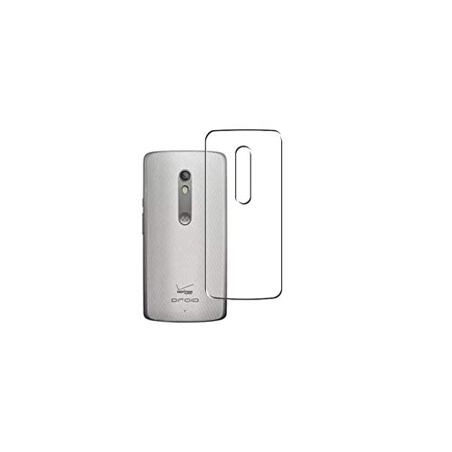 Vaxson 2 Stück Rückseite Schutzfolie, kompatibel mit Motorola Droid Turbo 2 Moto, Backcover Skin TPU Folie [nicht Panzerglas/nicht Front Bildschirmschutzfolie]